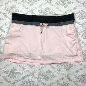 Lululemon pink skirt sz 10